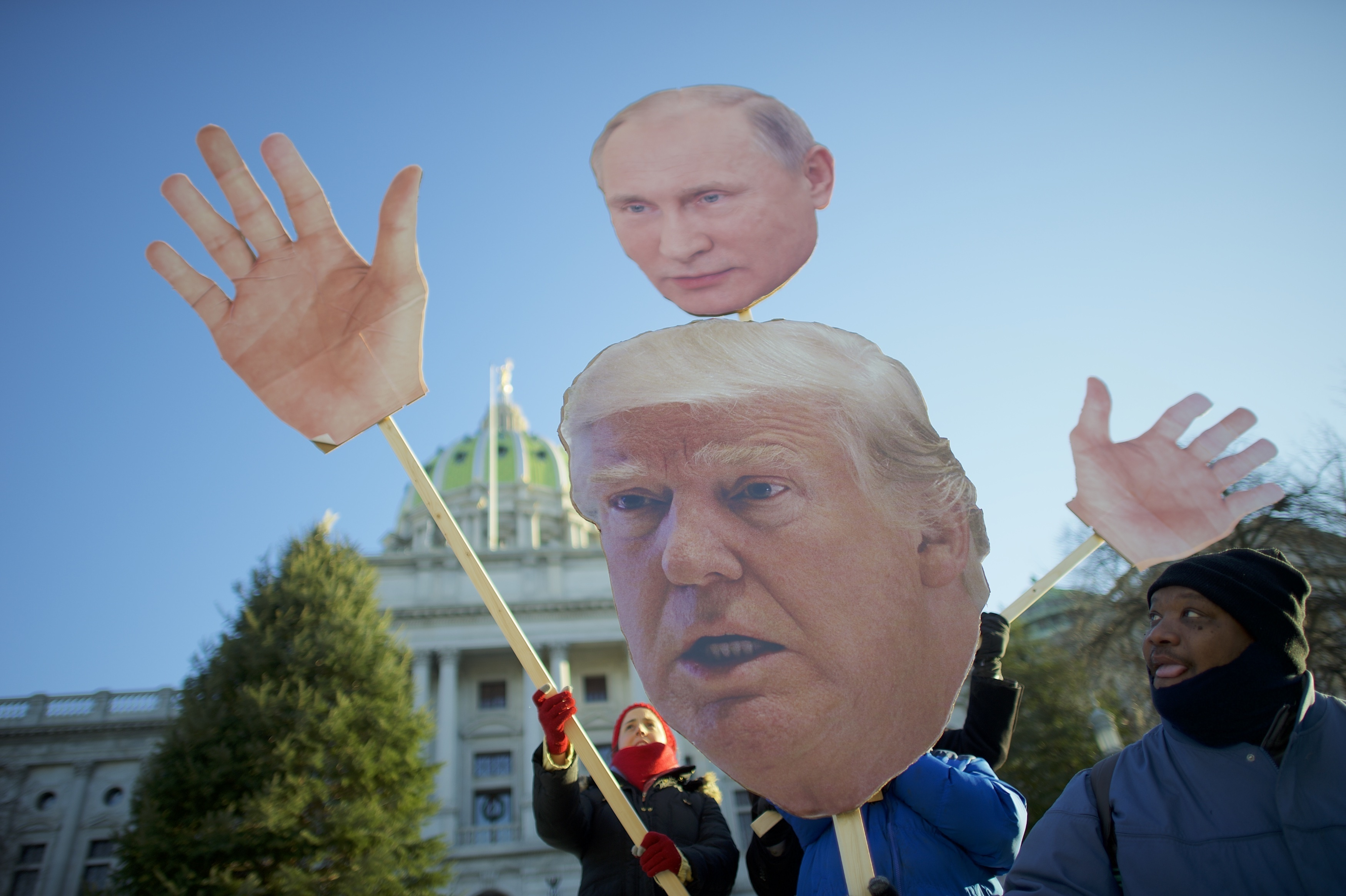 The whole Trump POTUS thing was a happy accident (for Putin, but not for anyone else in the world, really).
