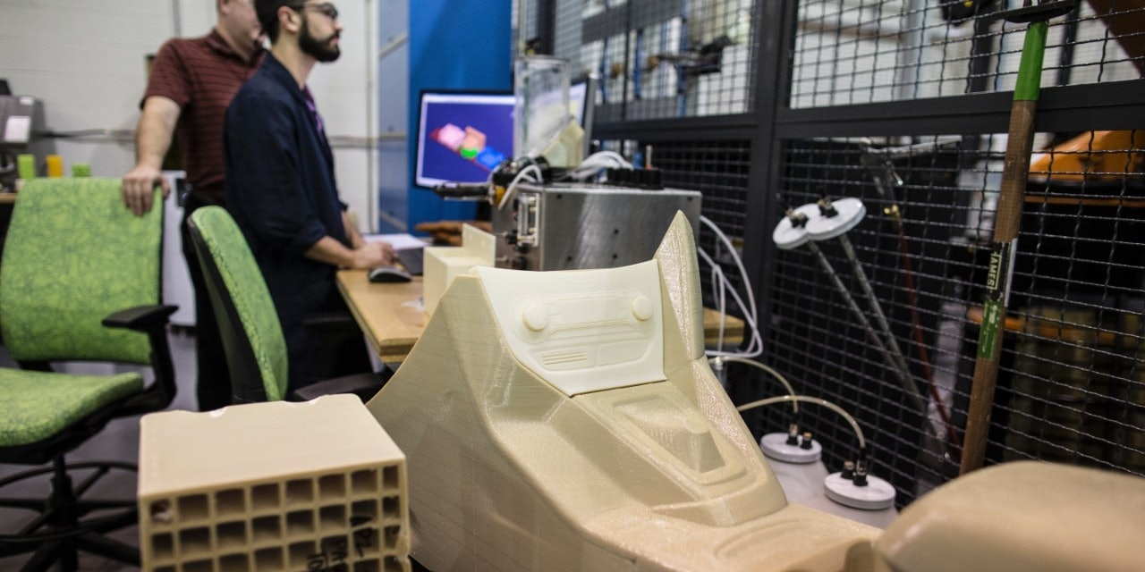 Ford's Experimental 3D-Printed Cars Are Perfect for Autonomy