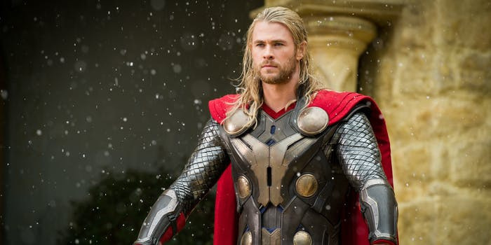 Thor the Dark World Chris Hemsworth Avengers