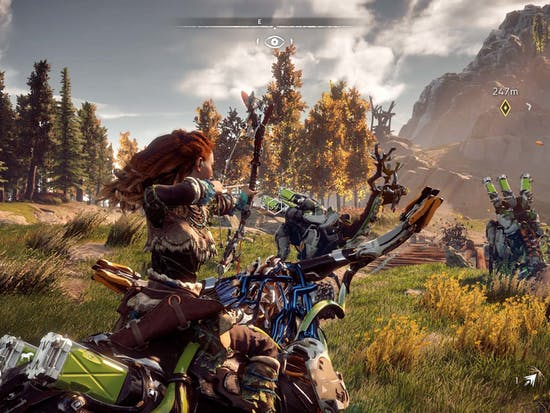 How 'Horizon Zero Dawn' Ended up with Robotic Dinosaurs