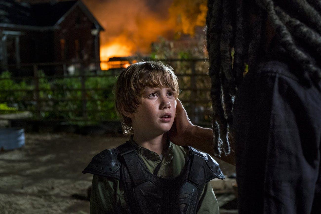 Henry (Macsen Lintz) in 'The Walking Dead'.