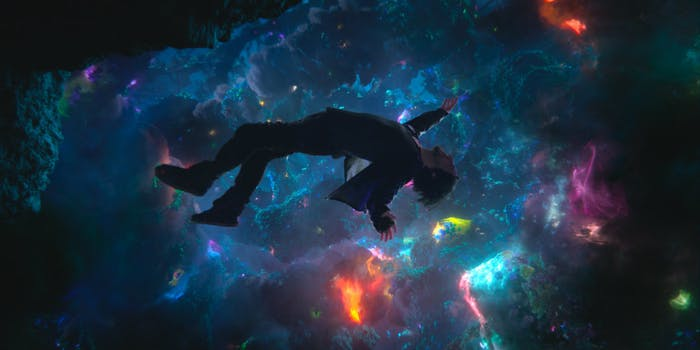 Dr. Stephen Strange experiences the quantum realm in 'Doctor Strange.'