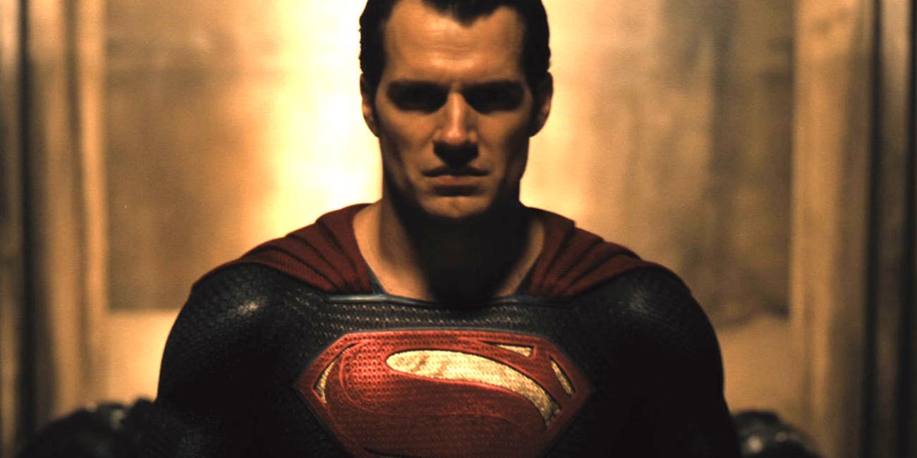 Henry Cavill as Superman in 'Justice League'