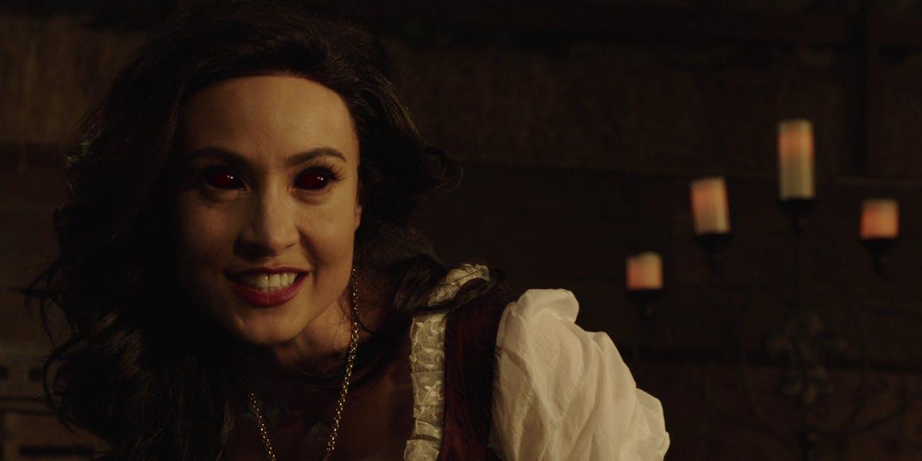 'Legends' finally explains how Nora Darhk got so ... dark.