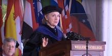 Hillary Clinton to Wellesley Graduates: Don't Fear the Trolls