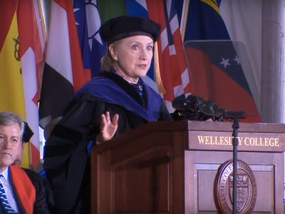 Hillary Clinton To Wellesley Graduates: Don't Fear the Trolls