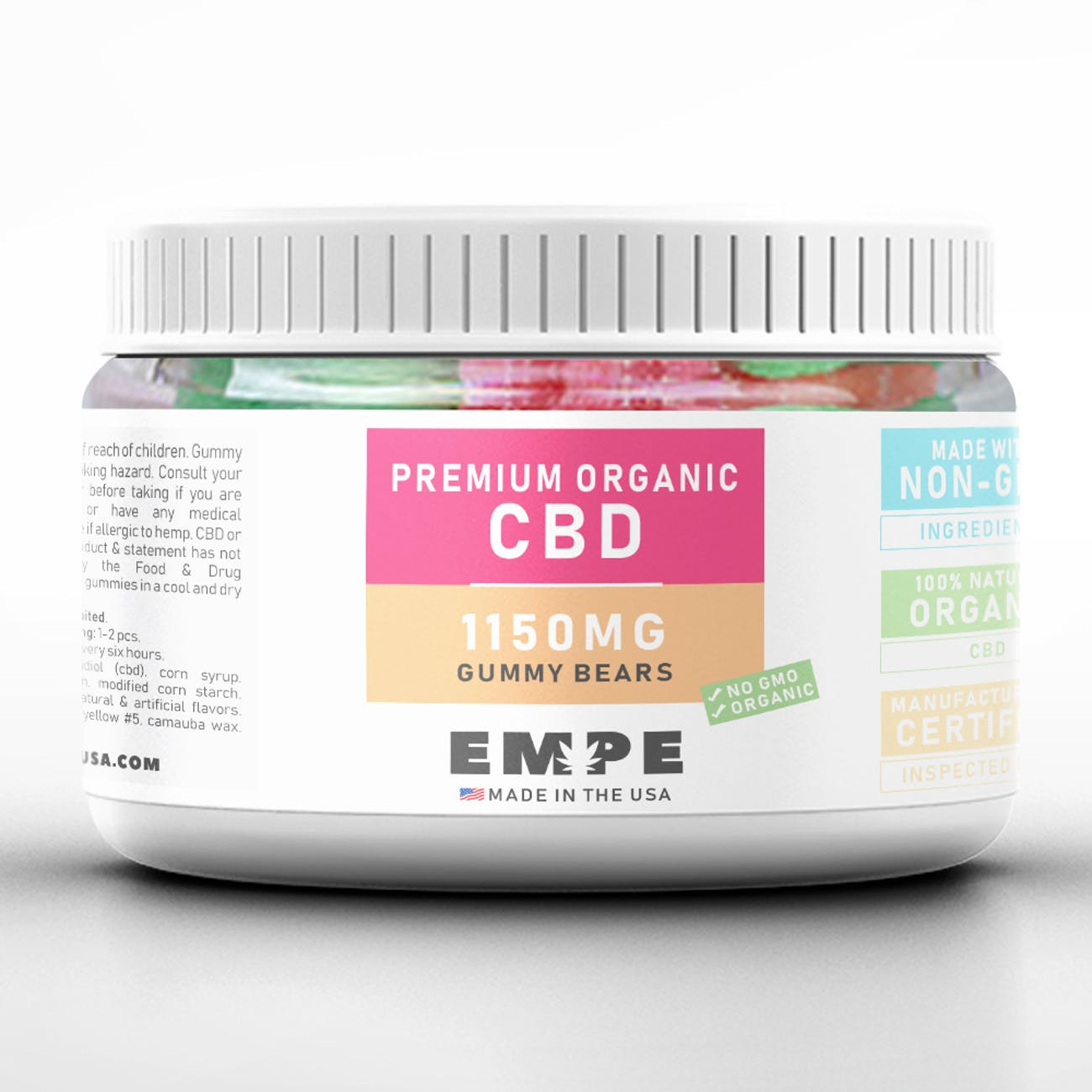 CBD Gummies From EMPE Are 25% Off With This Coupon Code