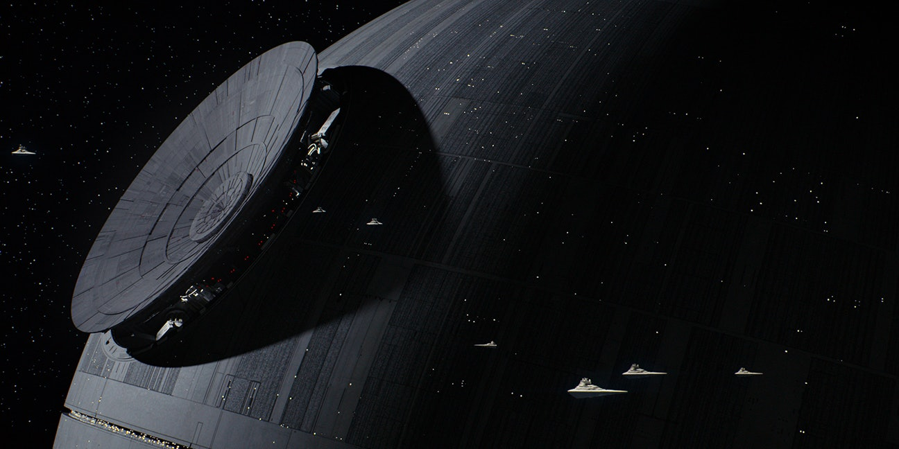 The new Death Star in 'Rogue One'