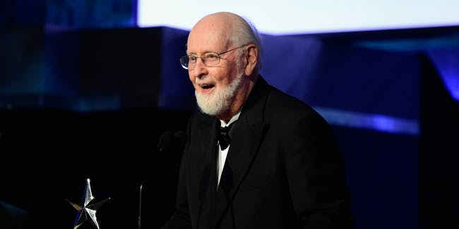 HOLLYWOOD, CA - JUNE 09: AFI Achievement Award recipient John Williams speaks onstage during American Film Institute's 44th Life Achievement Award Gala Tribute show to John Williams at Dolby Theatre on June 9, 2016 in Hollywood, California. 26148_001  (Photo by Frazer Harrison/Getty Images for Turner)