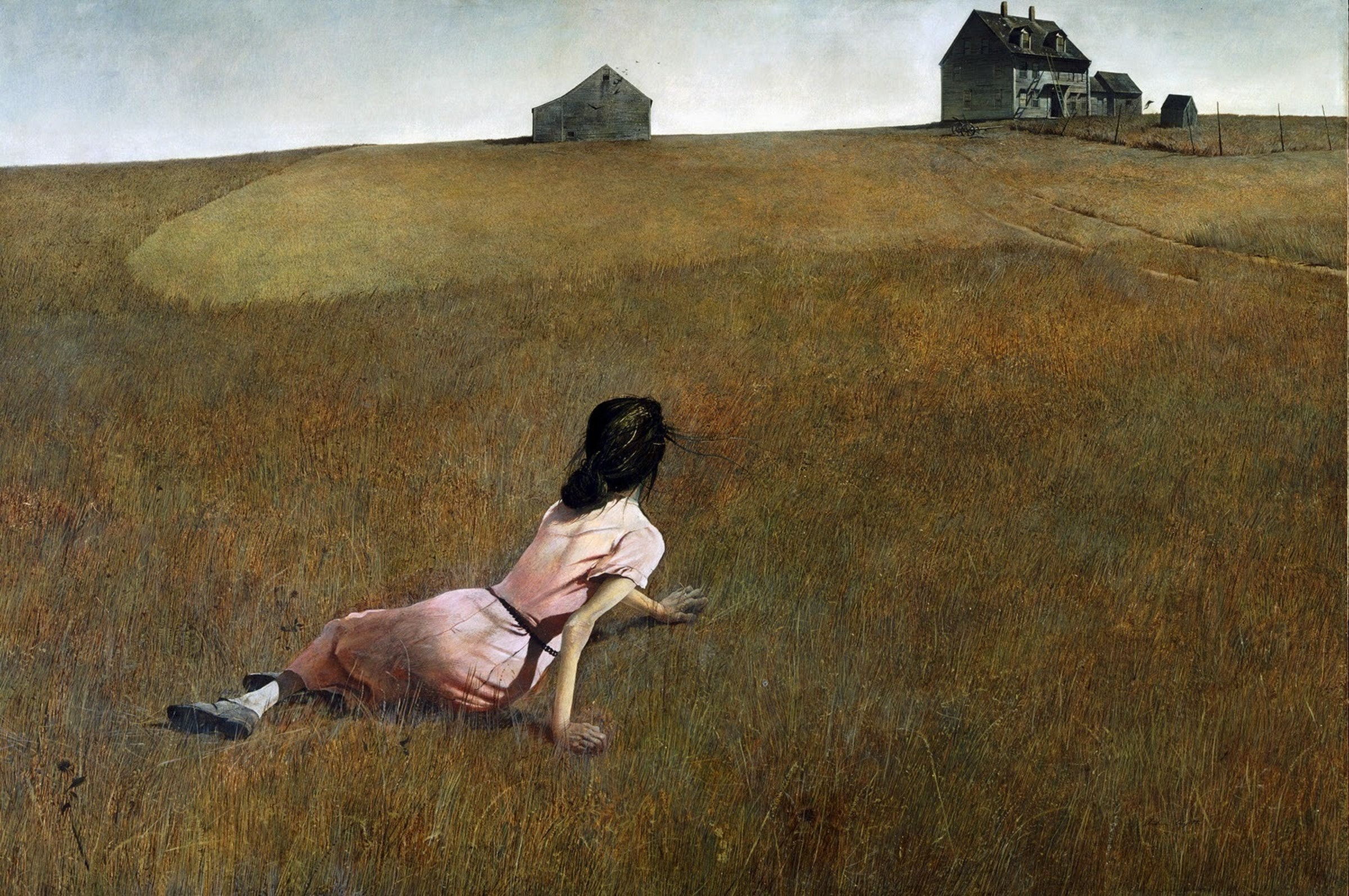 John Romita Jr. says Andrew Wyeth's ominous 'Christina's World' was an inspiration for 'All-Star Batman''s aesthetic.