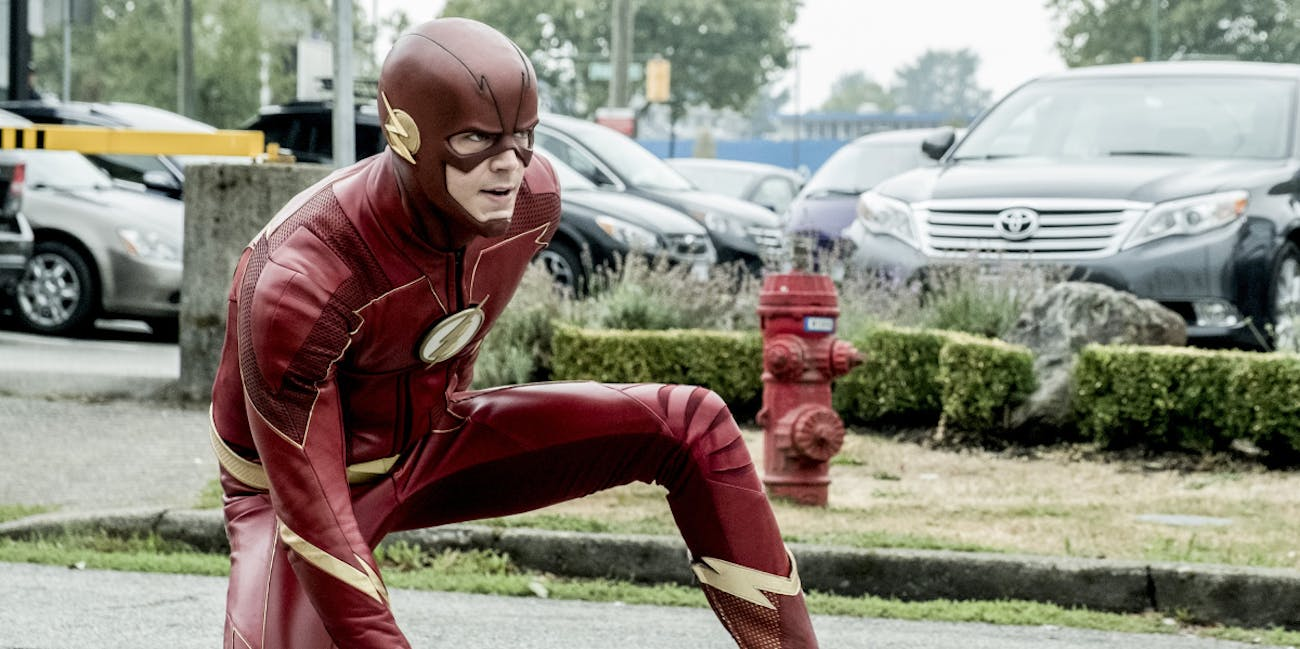 Barry's not the only one with a supersuit now.