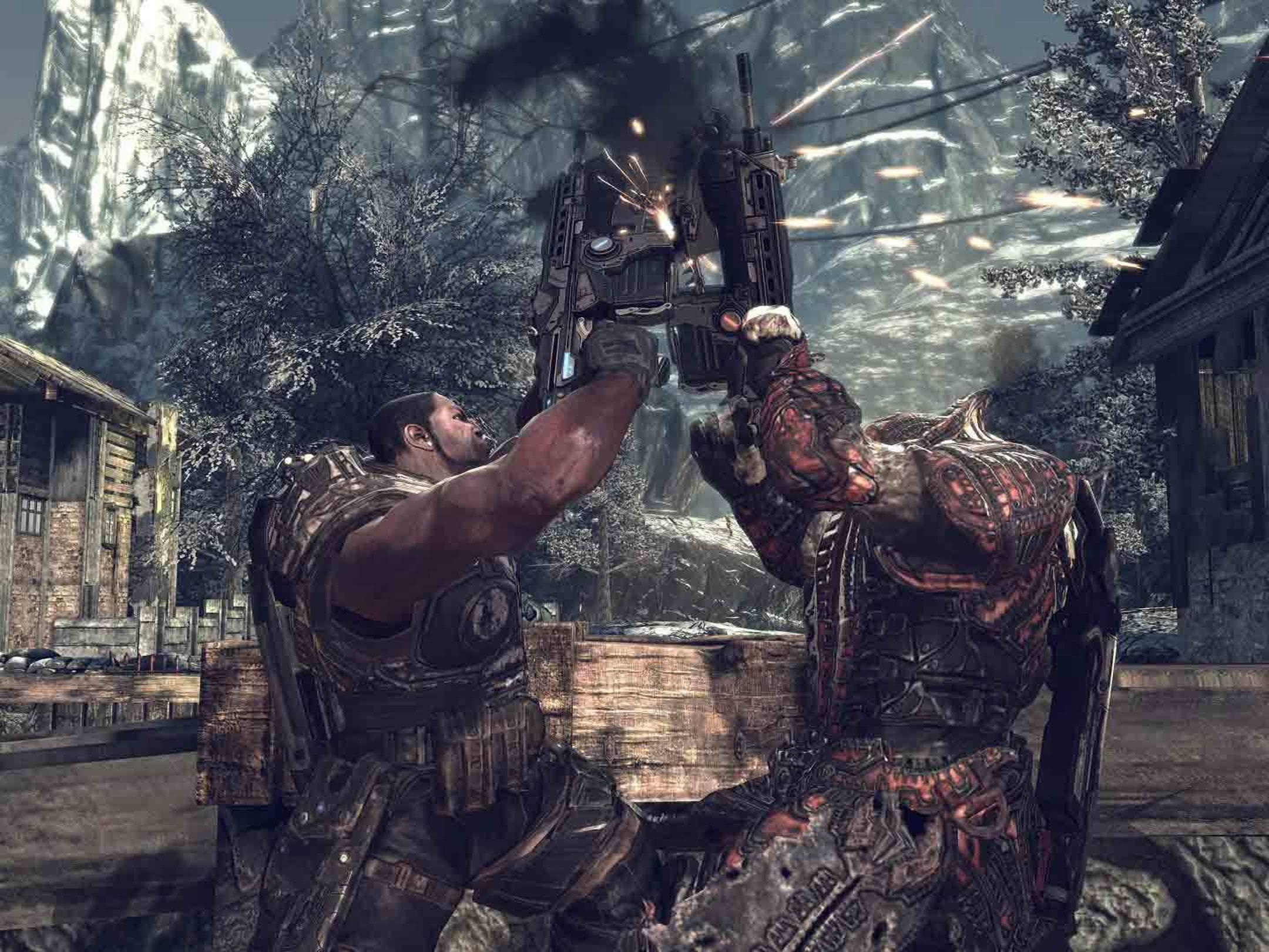 Why the 'Gears of War' Chainsaw Gun Is Actually Pretty Great