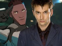 gen:LOCK Michael B Jordan David Tennant