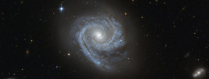 One way we can infer the existence of dark matter is by looking at the movement of stars within galaxies.