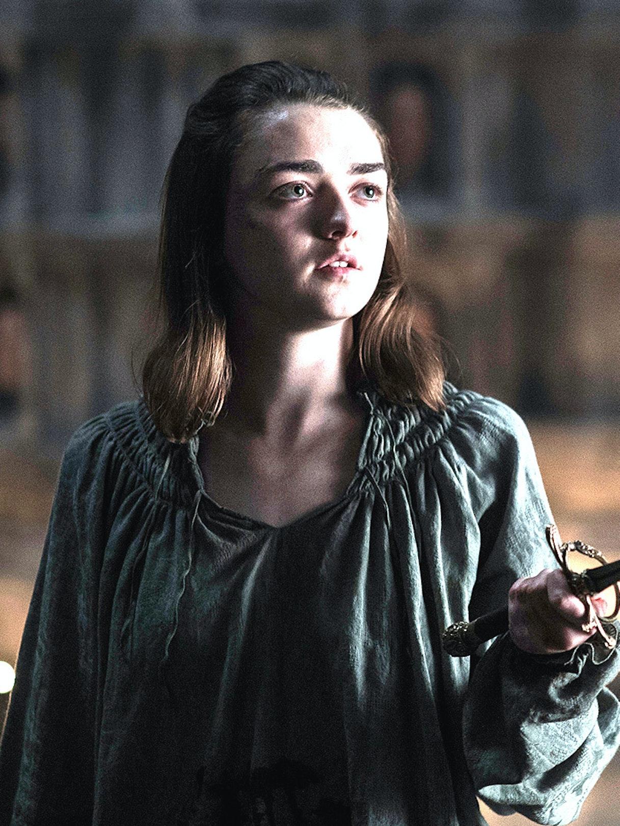 Arya Stark in 'Game of Thrones'