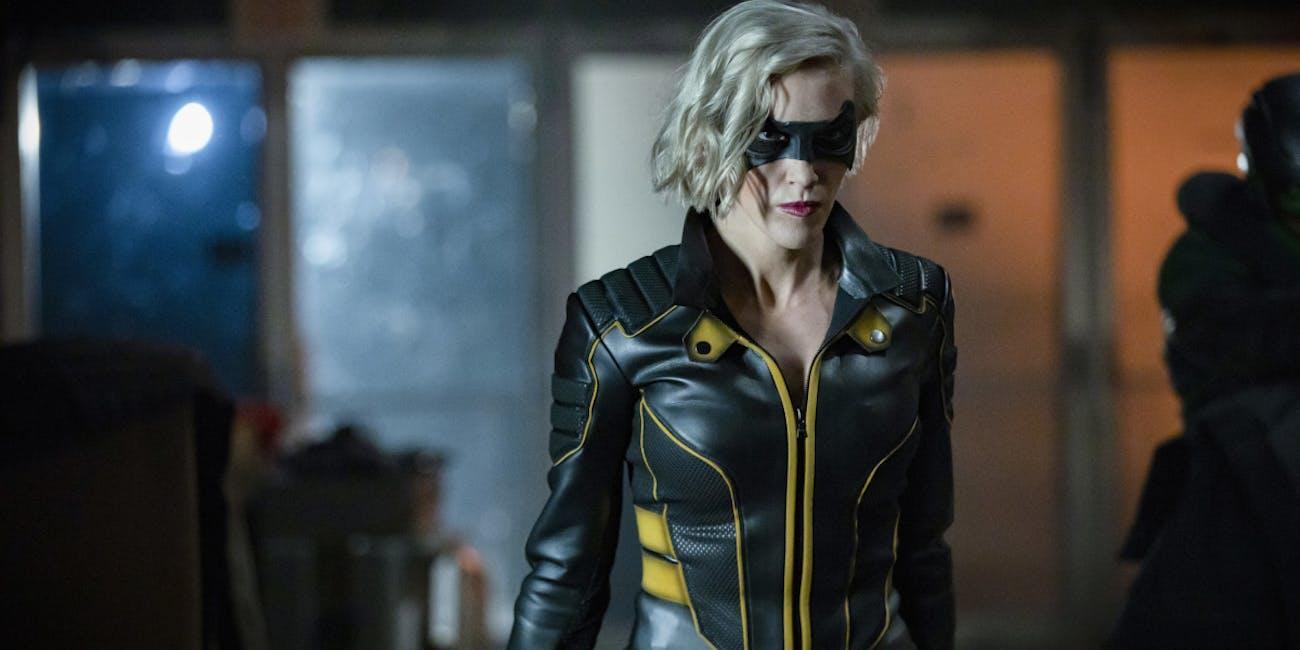 Arrow Season 8 White light Laurel Lance Black Canary