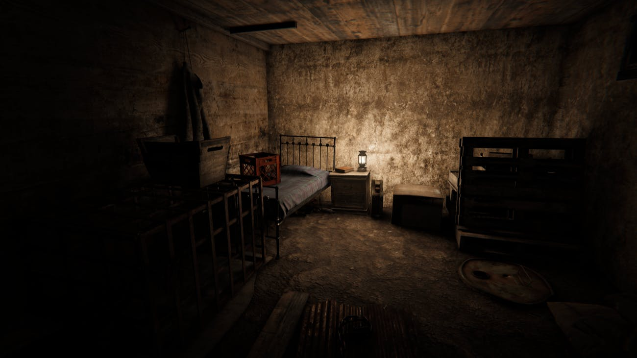 Outlast 2 succeeds in scaring through the player's lack of power.