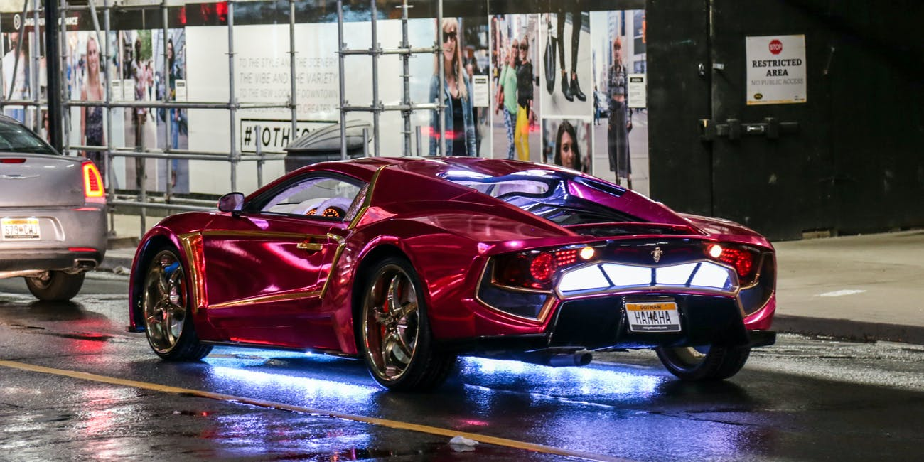 People Are Ordering Joker S Car From Suicide Squad Inverse