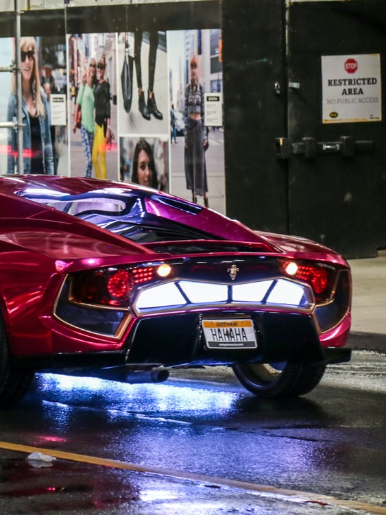 Joker's Car in 'Suicide Squad'