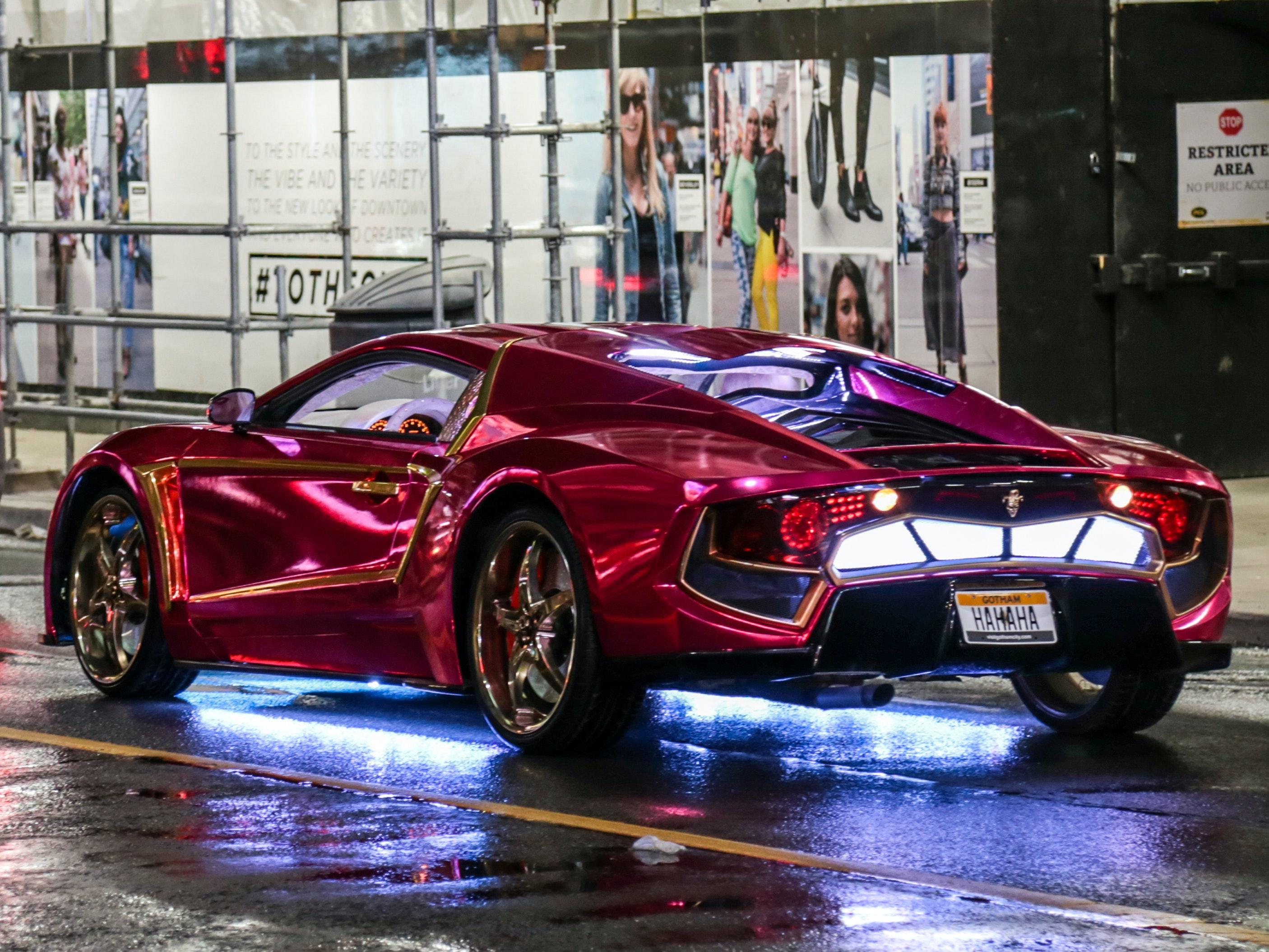 Joker's Car in 'Suicide Squad'