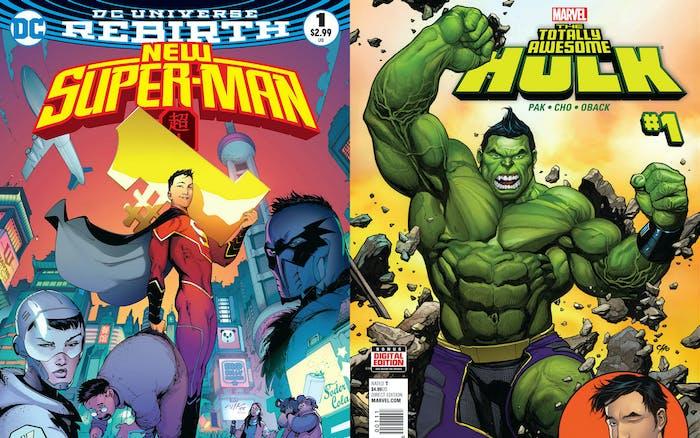 Hulk Super-Man Greg Pak Gene Luen Yang