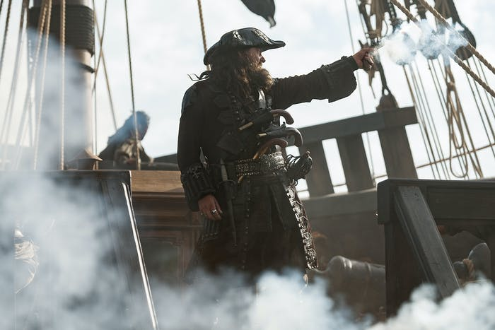 Ray Stevenson as Blackbeard in 'Black Sails'