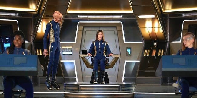 Admiral Cornwell in command in 'Star Trek: Discovery'