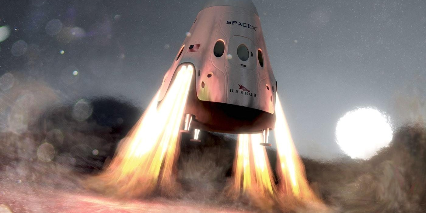 SpaceX's Red Dragon Will Use Badass New Tech to Land on Mars