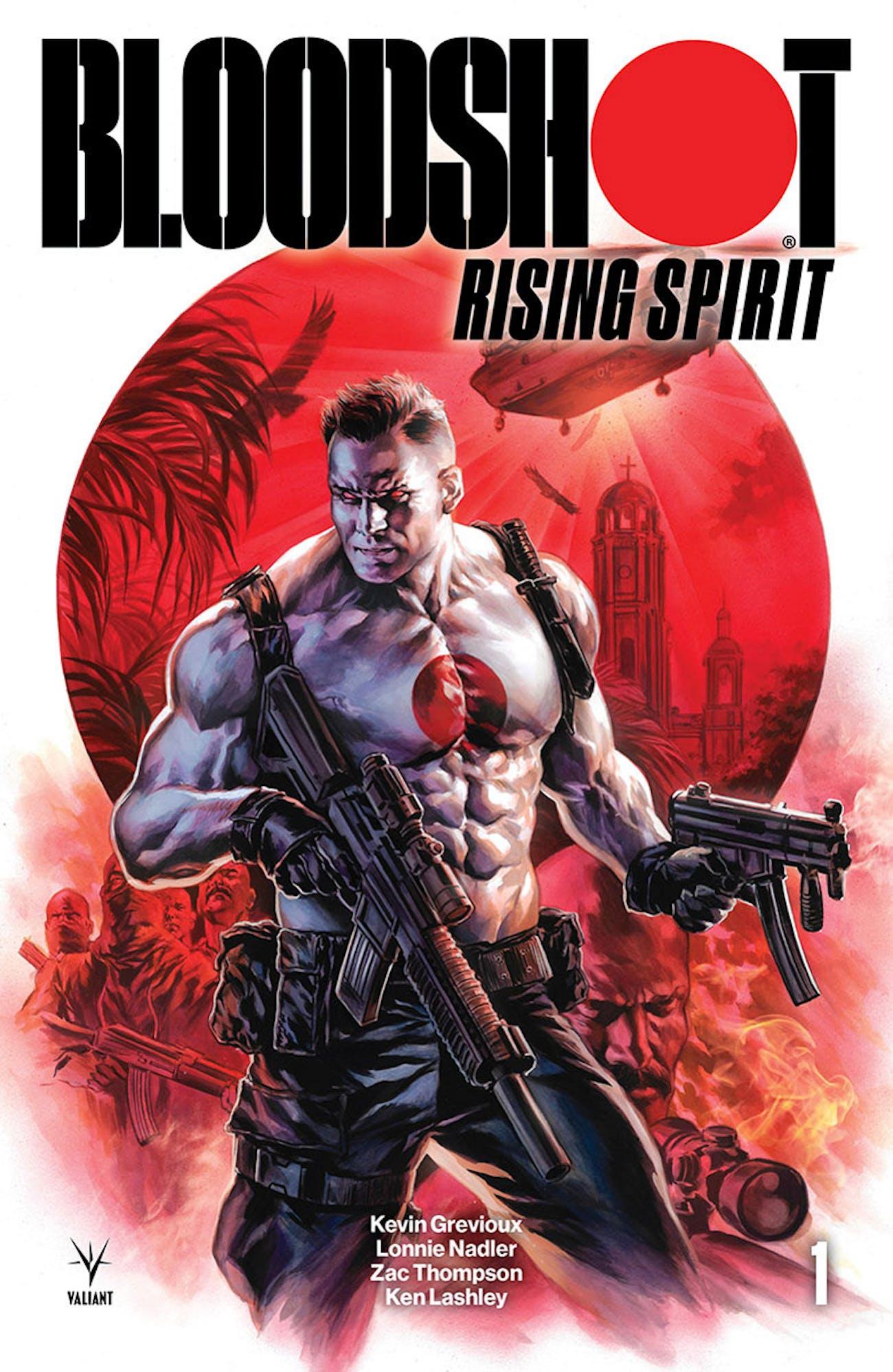 Valiant Bloodshot Rising Spirit Felipe Massafera