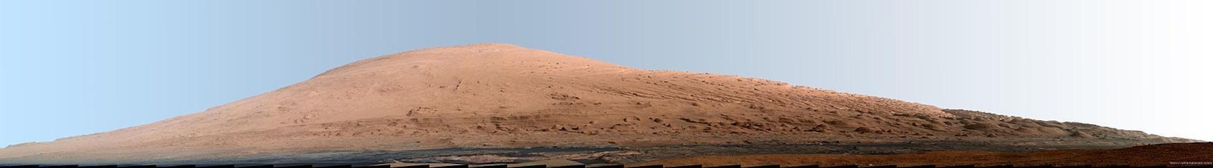 Mars' Mount Sharp