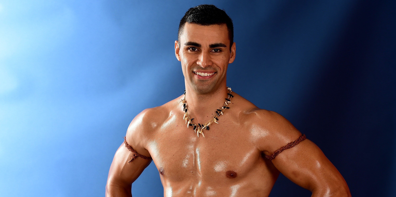 Tonga's Pita Taufatofua, poster boy of the spornosexual revolution.