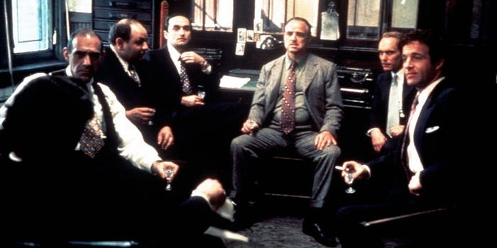The Godfather men group male weakness evolutionary biology