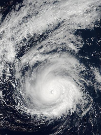 NASA-NOAA Suomi NPP satellite captured image of Hurricane Madeline.