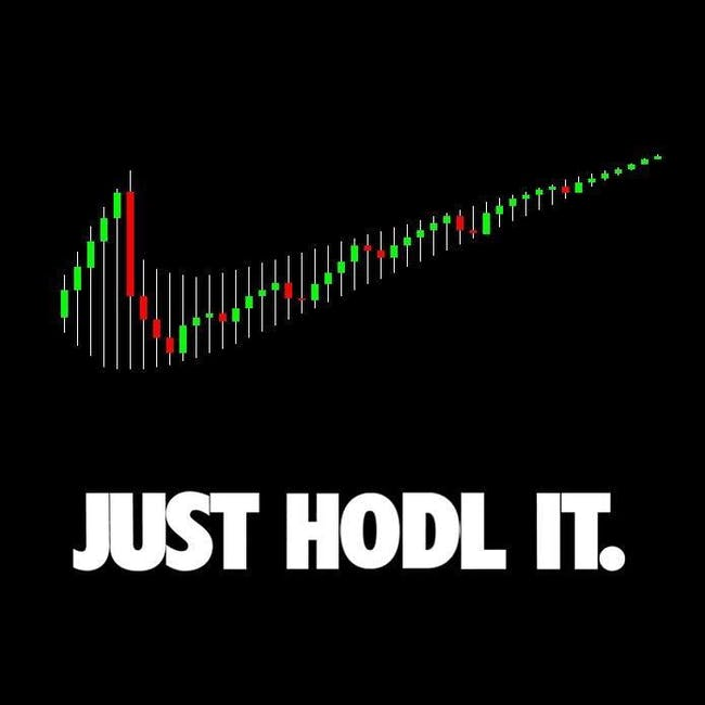 Just hodl.