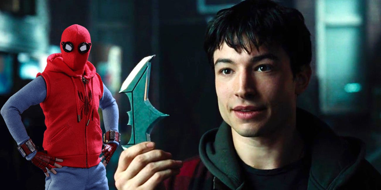 ezra miller s flash is the peter parker of justice league inverse