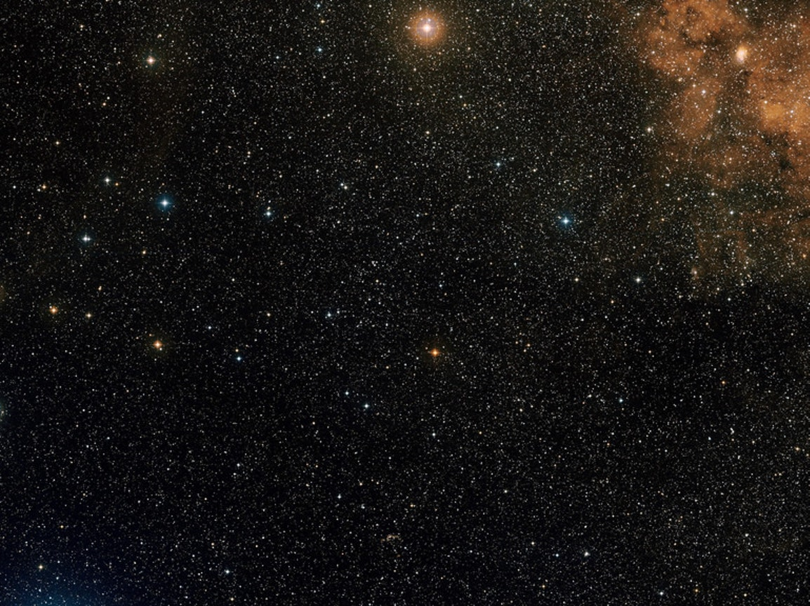 Star fields stretch on for billions of light-years.