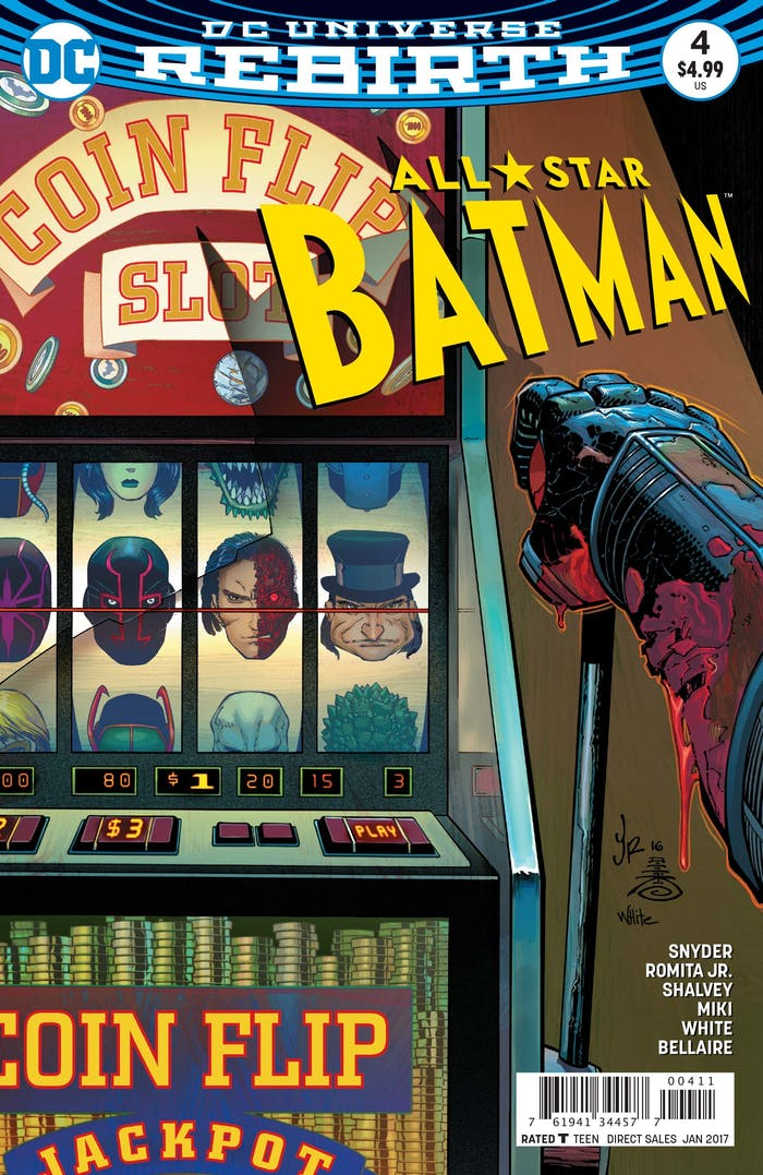 Cover of 'All-Star Batman' #4, releasing this Wednesday.