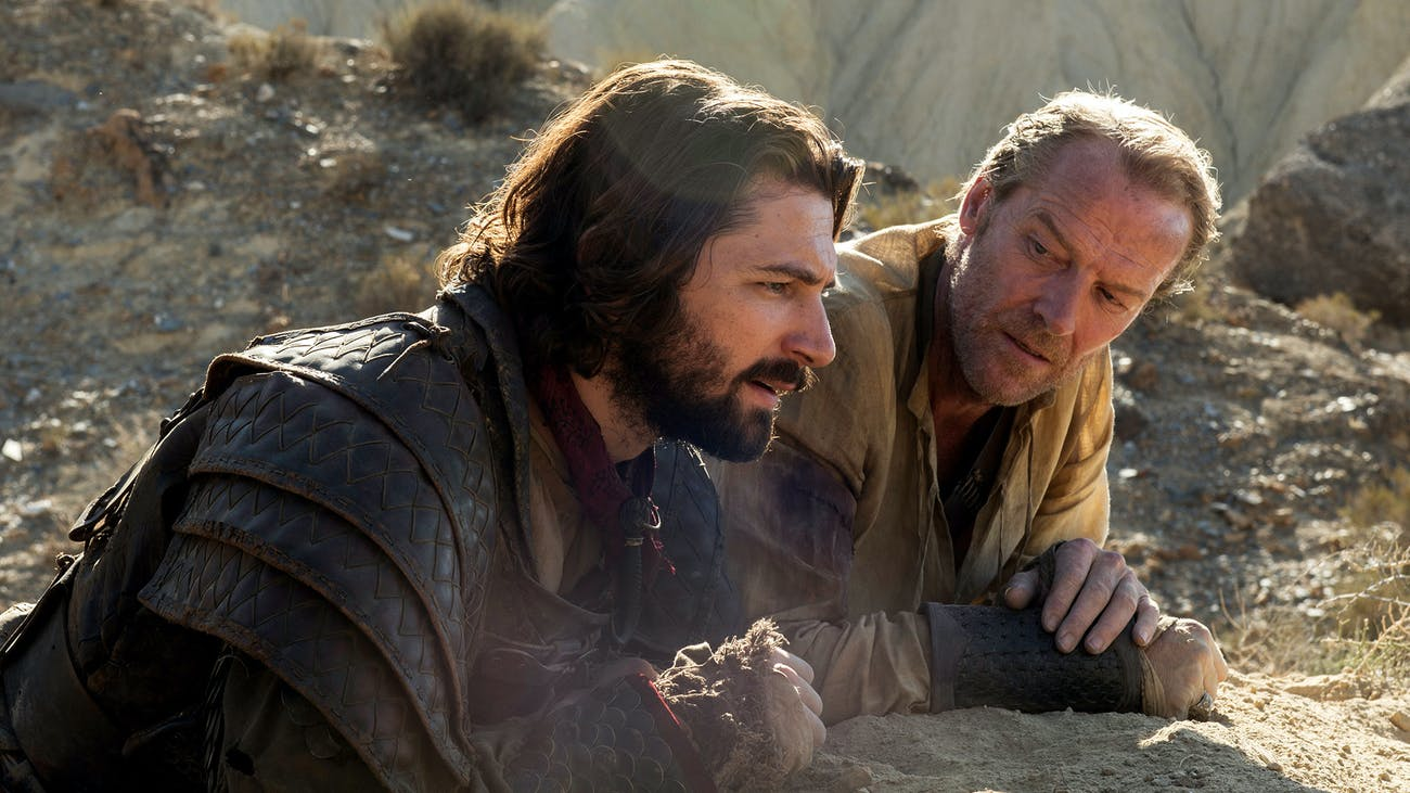 Jorah will find the cure for Greyscale
