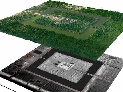 What's This LIDAR That Revealed a Secret Cambodian City?