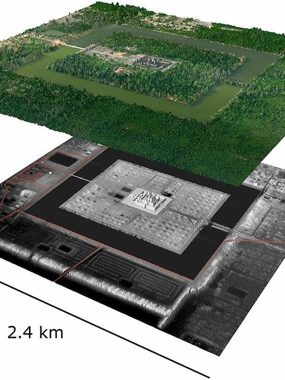 Angkor LIDAR