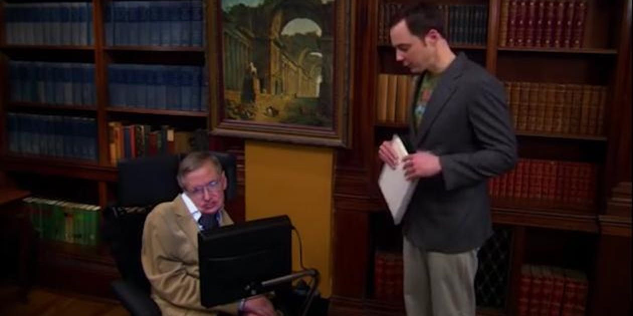 'Big Bang Theory' loved its nerdy celeb cameos, and Stephen Hawking's was an absolute treasure.