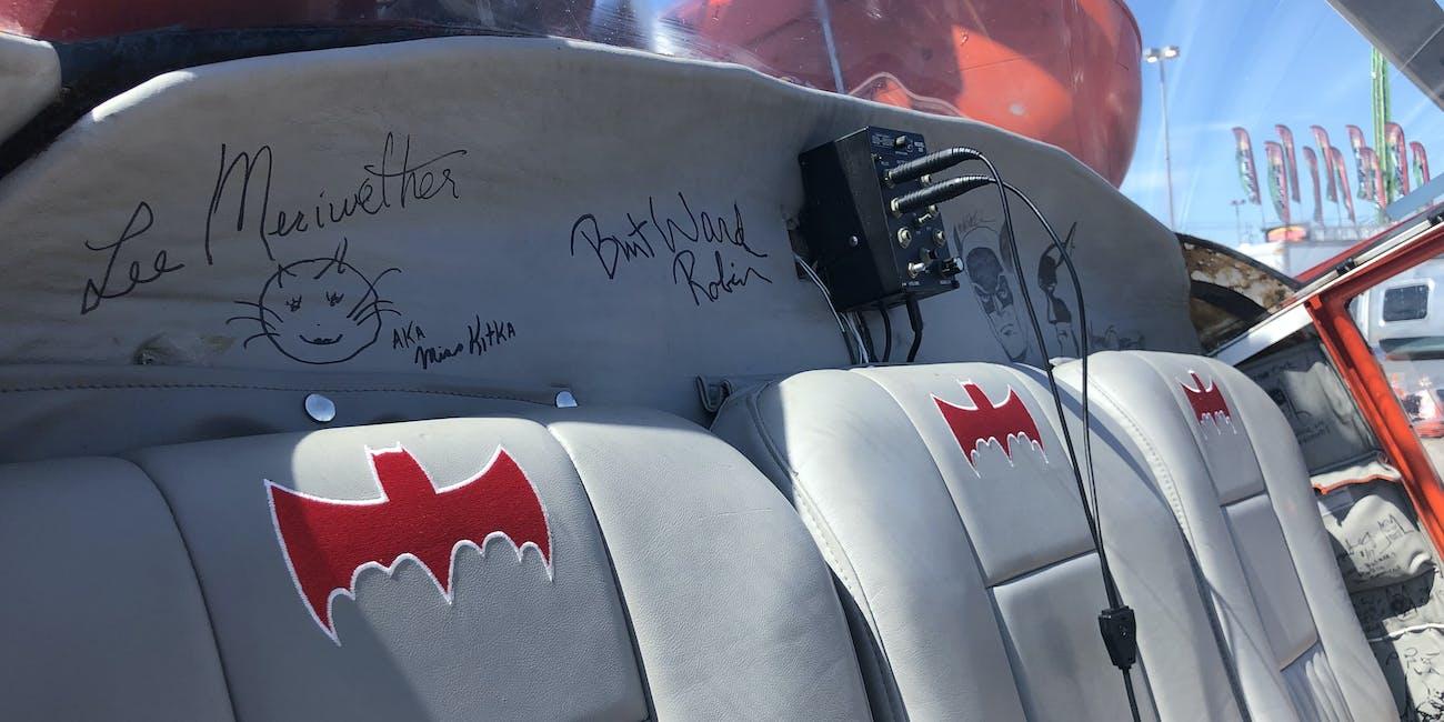 Batcopter Batman