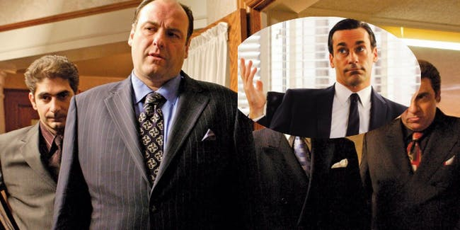 'Mad Men' and 'The Sopranos' might share the same universe.
