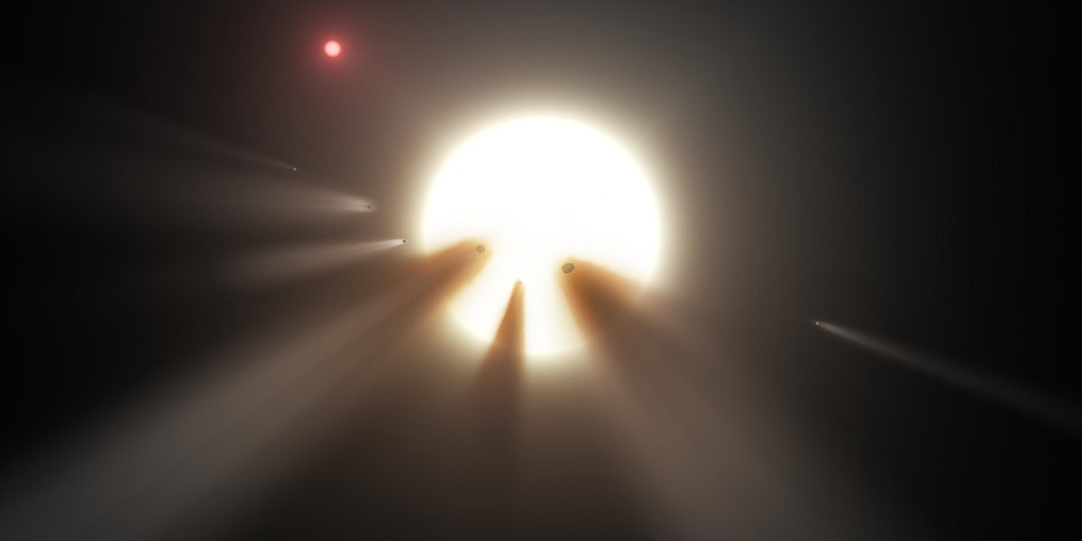 Alien megastructure strange dimming Tabby's Star