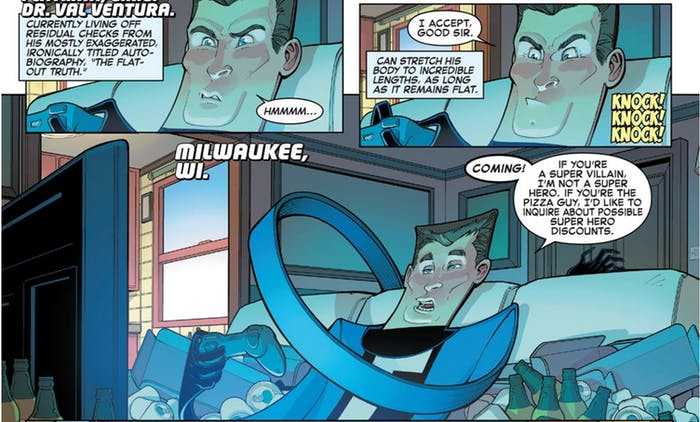 Flatman in The Great Lakes Avengers