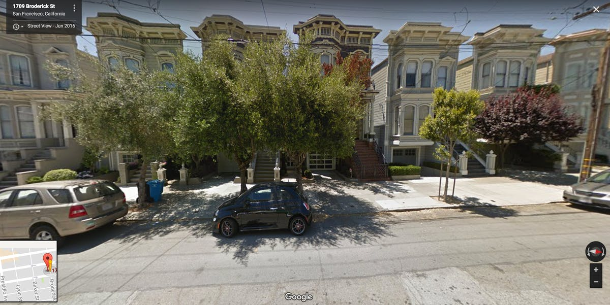 Full House house google street view san francisco maps