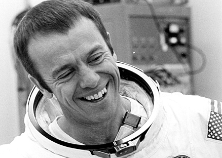This is the smile of a man who knows NASA can't touch this.