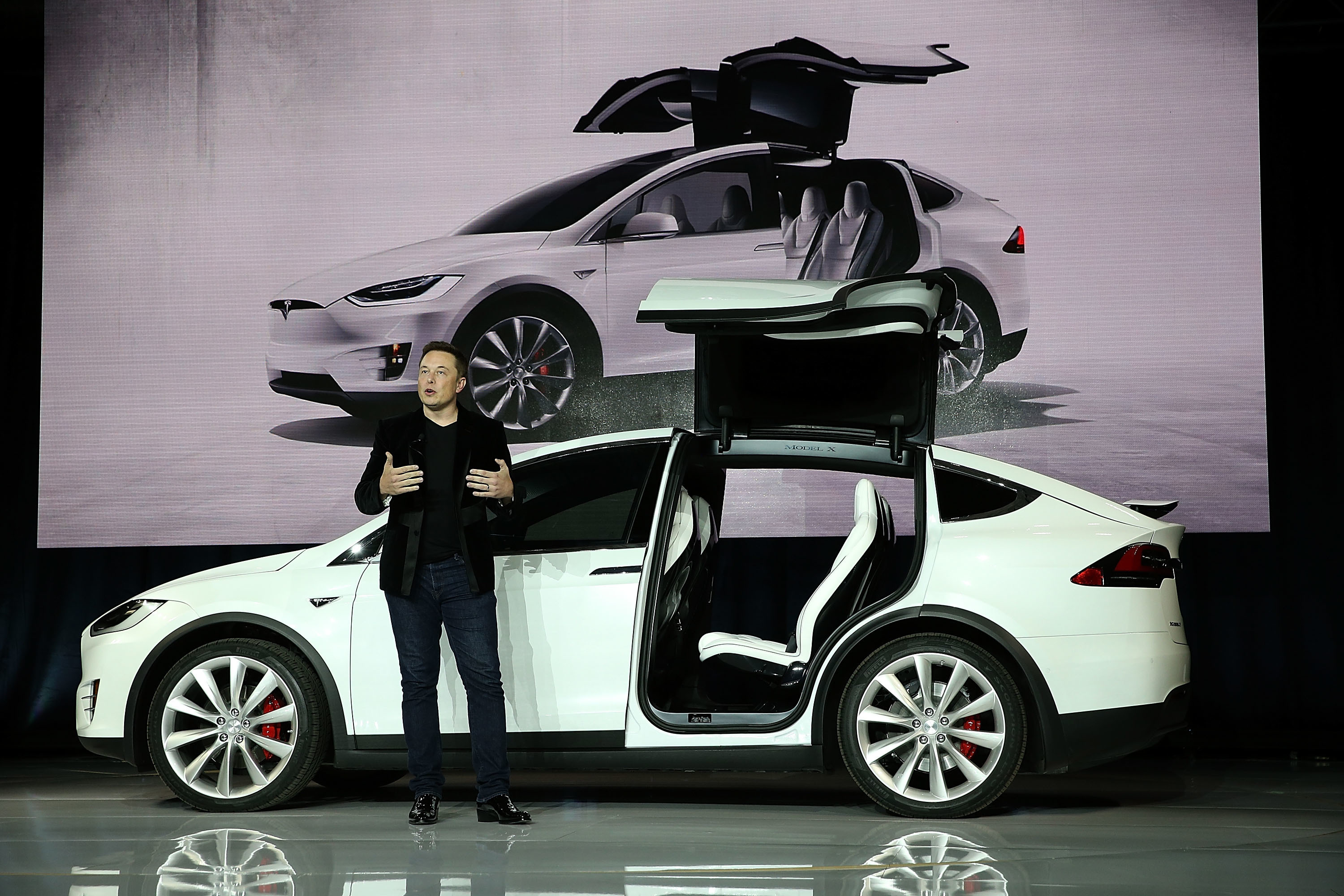 Tesla CEO Elon Musk envisions a future ridesharing system powered by autonomous vehicles.