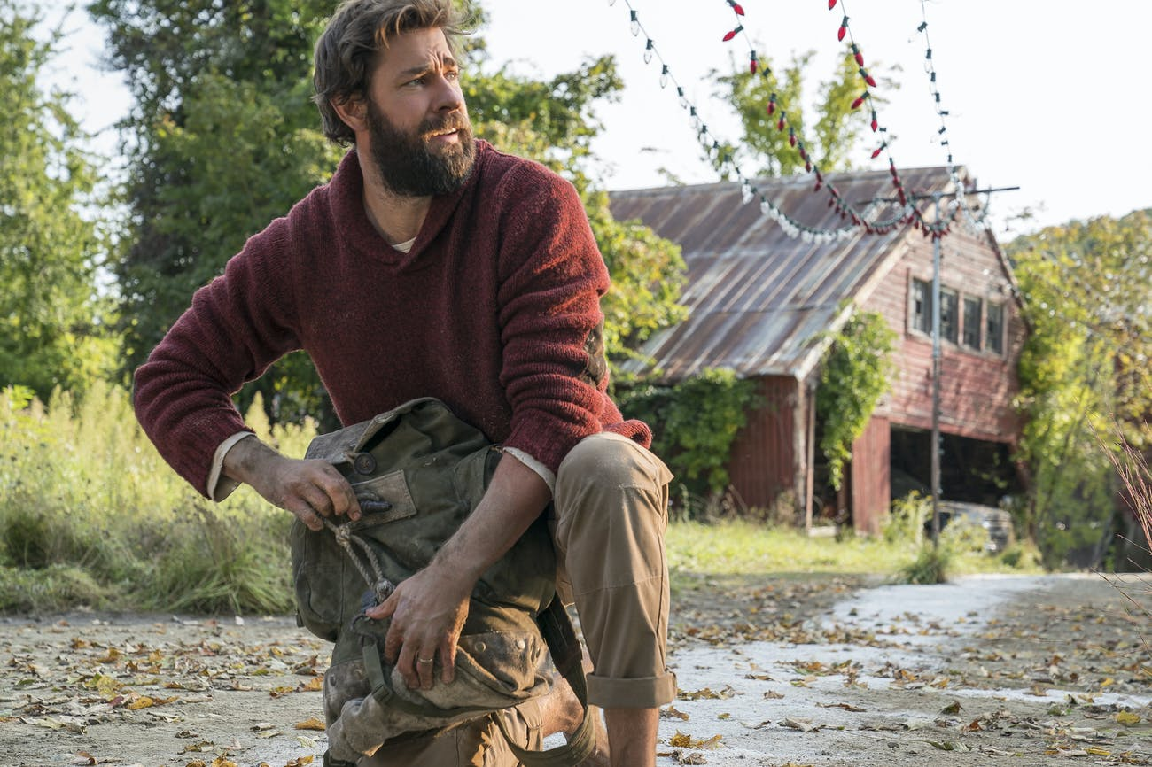 John Krasinski in 'A Quiet Place'.
