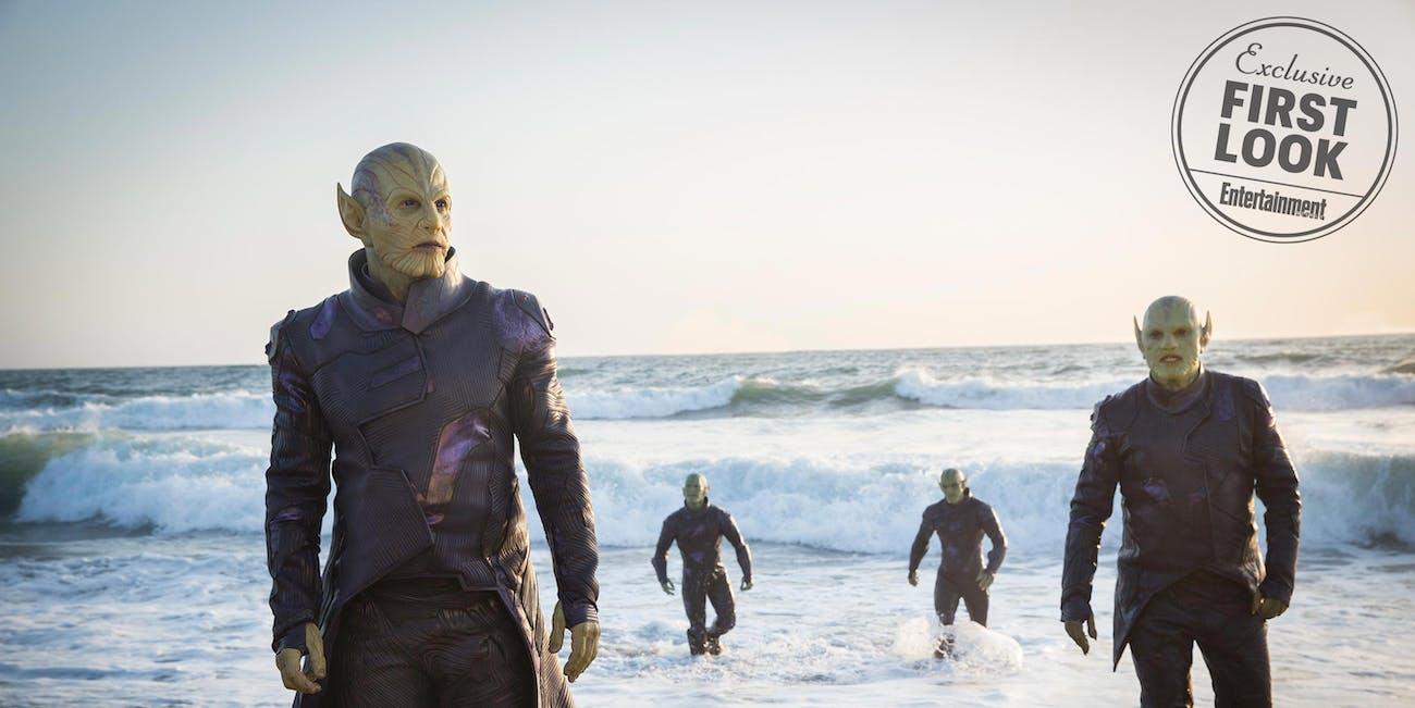'Captain Marvel' Skrulls